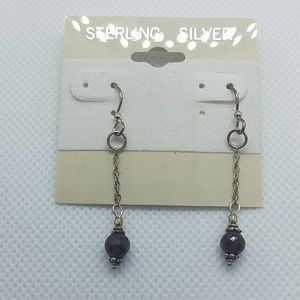 NWT Sterling Sliver Dangling Earrings